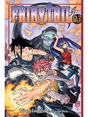 cover image of Fairy Tail, Volume 23